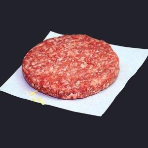 Stuffed cheese burger neat meat