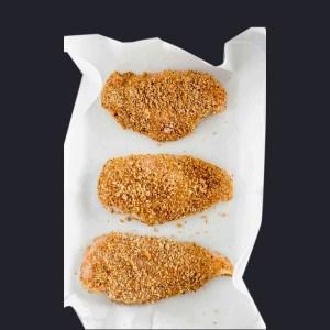 Chicken Pane neat meat