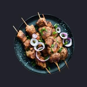 Marinated Veal Kabab
